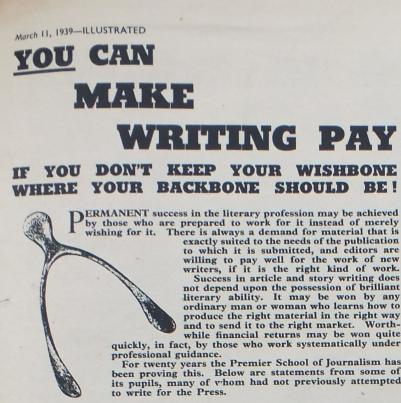 Vintage Newspaper Clip