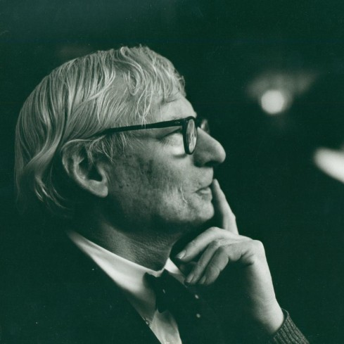 Louis Kahn Portrait